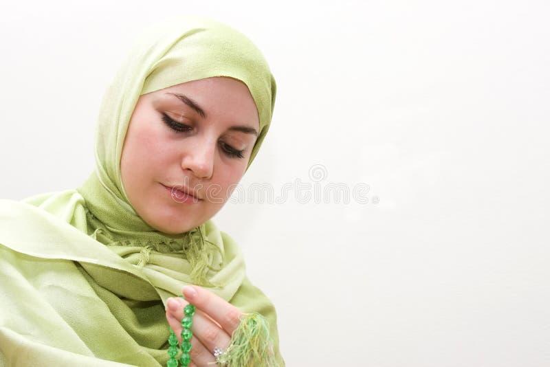 Download μουσουλμανική γυναίκα &s στοκ εικόνες. εικόνα από επίκληση - 13187130
