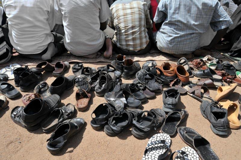 μουσουλμανική προσευ&c στοκ φωτογραφία με δικαίωμα ελεύθερης χρήσης