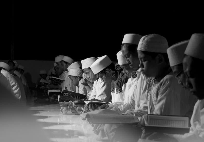 Μουσουλμανικοί σπουδαστές στοκ φωτογραφίες με δικαίωμα ελεύθερης χρήσης