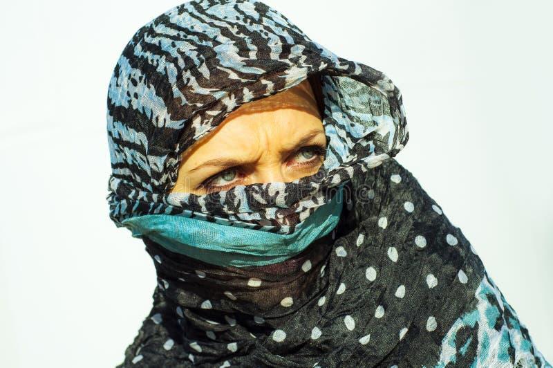 Μουσουλμανικό κορίτσι που φορά higab στοκ φωτογραφίες με δικαίωμα ελεύθερης χρήσης