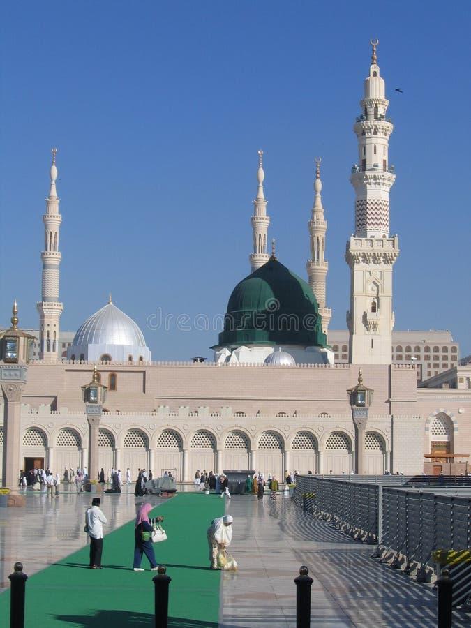 μουσουλμανικό τέμενος ελαιόπρινου στοκ εικόνες