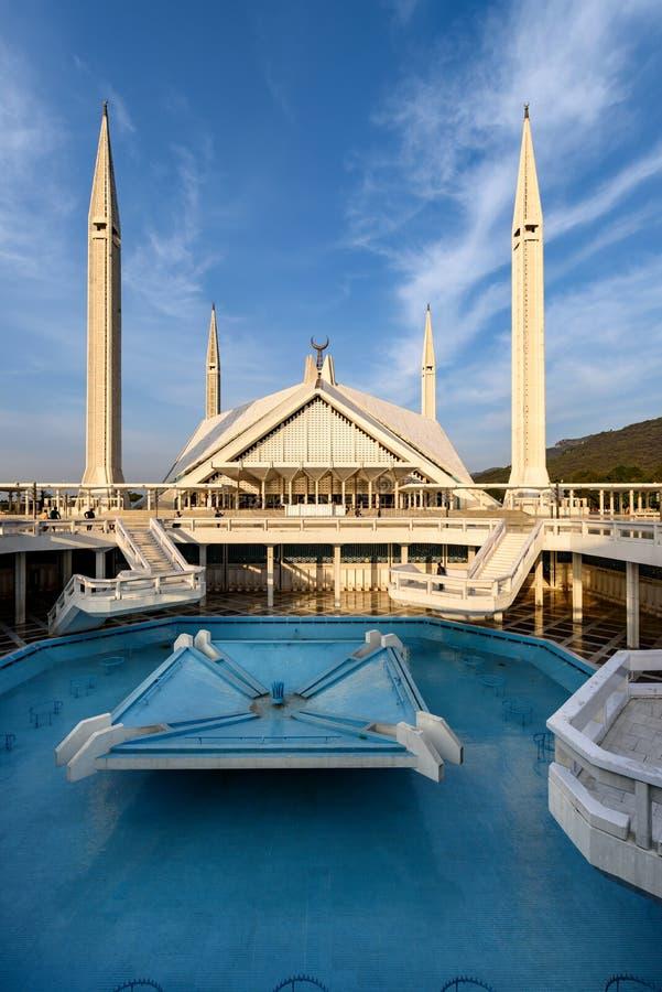 Μουσουλμανικό τέμενος Ισλαμαμπάντ Πακιστάν Faisal στοκ εικόνες