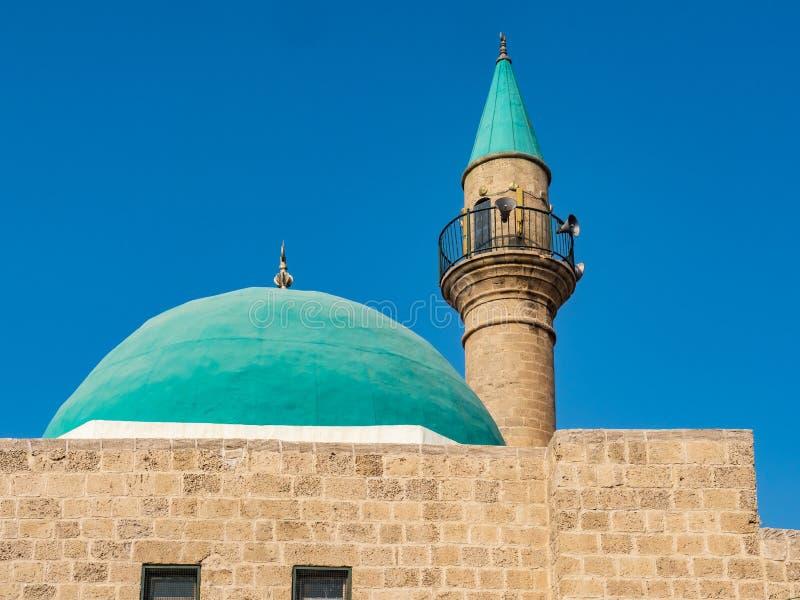 Μουσουλμανικό τέμενος και μιναρές στοκ εικόνα