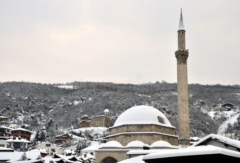 Μουσουλμανικό τέμενος πασάδων Sinan, Prizren, Κόσοβο στοκ φωτογραφία με δικαίωμα ελεύθερης χρήσης