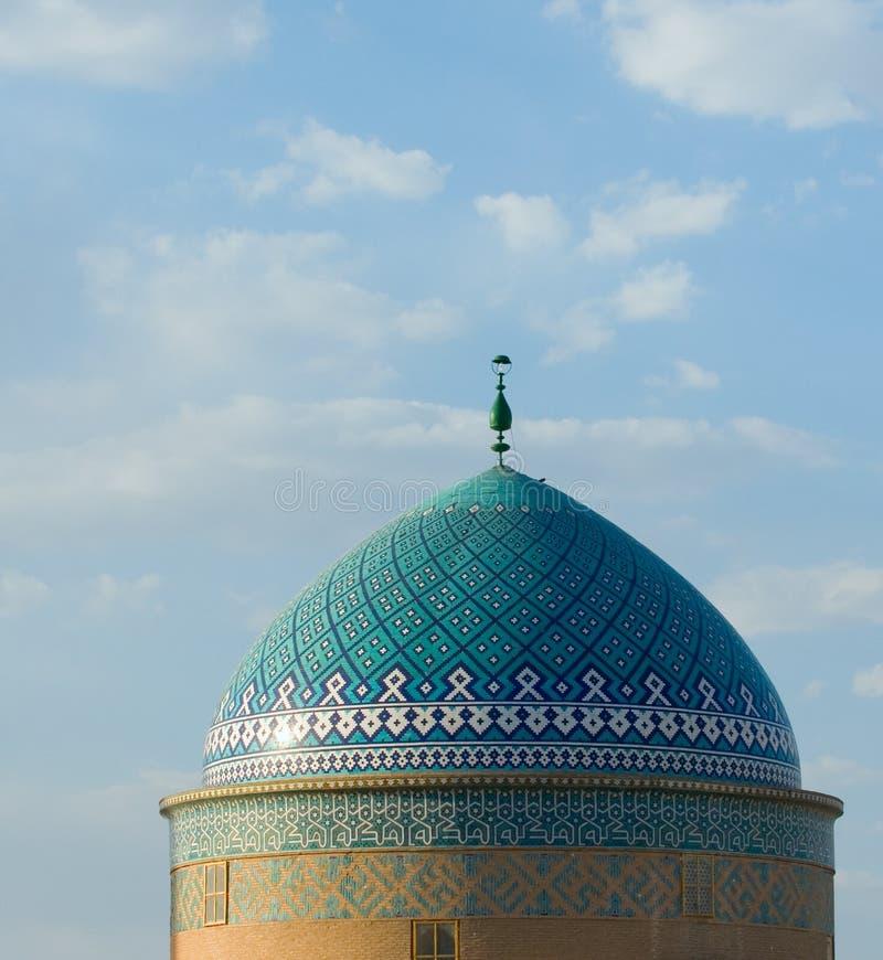 Μουσουλμανικό τέμενος σε Yazd στοκ εικόνες