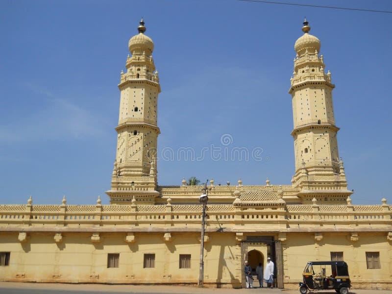 Μουσουλμανικό τέμενος σουλτάνων Tippu στοκ εικόνες