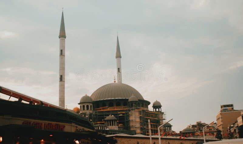 Μουσουλμανικό τέμενος στην Τουρκία στοκ εικόνα με δικαίωμα ελεύθερης χρήσης