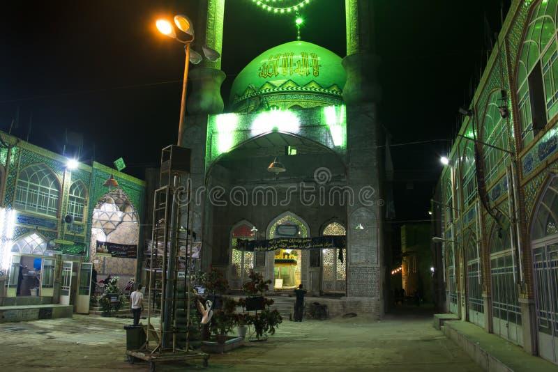 Μουσουλμανικό τέμενος στο bazaar Kashan, Ιράν στοκ εικόνες με δικαίωμα ελεύθερης χρήσης