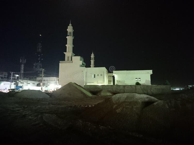 Μουσουλμανικό τέμενος στο Hyderabad στοκ εικόνες