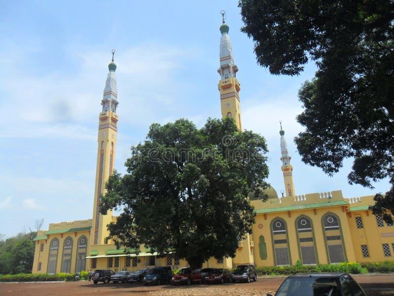 Μουσουλμανικό τέμενος του Κόνακρι στοκ εικόνα