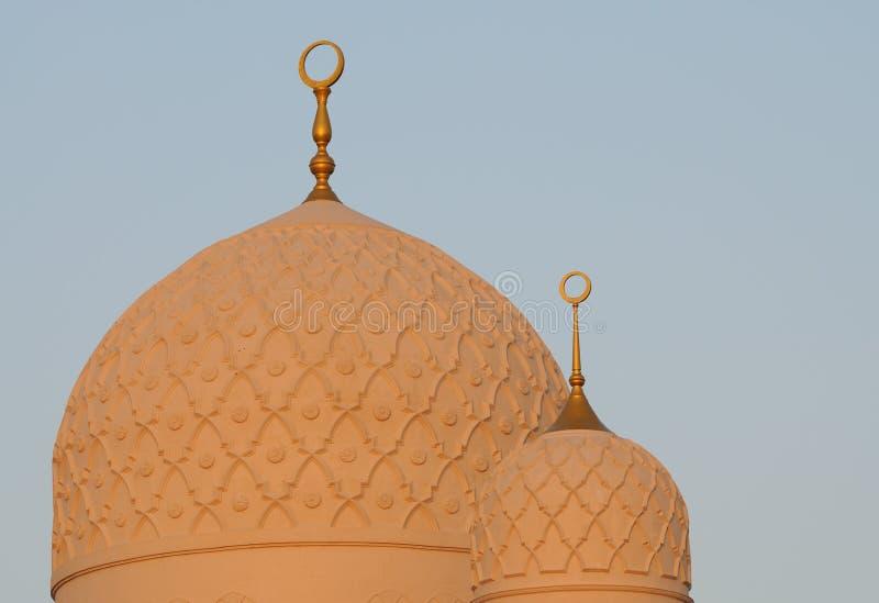 μουσουλμανικό τέμενος του Ντουμπάι jumeirah στοκ φωτογραφίες