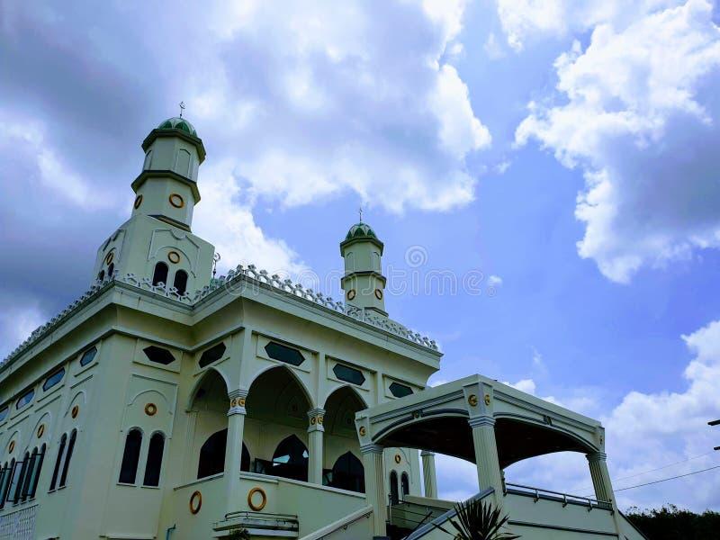 Μουσουλμανικό τέμενος του Πακιστάν στο thailamd στοκ εικόνες