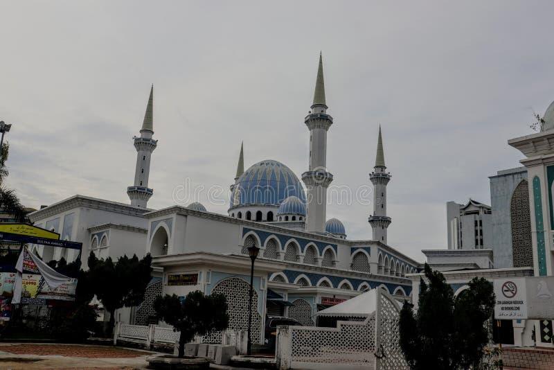 Μουσουλμανικό τέμενος του Ahmad Shah σουλτάνων σε Kuantan στοκ φωτογραφία με δικαίωμα ελεύθερης χρήσης