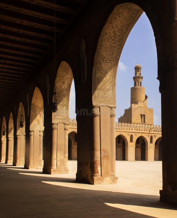 Μουσουλμανικό τέμενος του Ahmed ibn tulun στοκ εικόνα με δικαίωμα ελεύθερης χρήσης