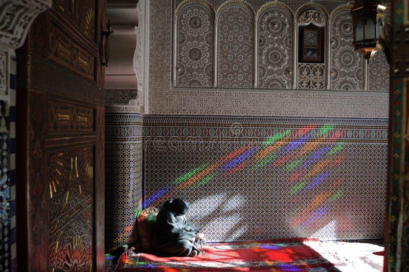 μουσουλμανικό τέμενος του Fez στοκ εικόνα