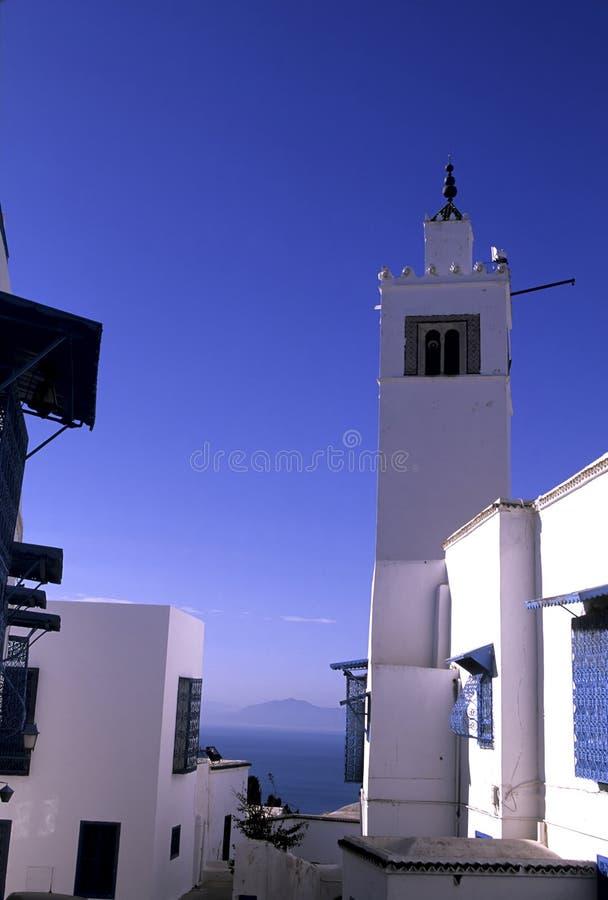 μουσουλμανικό τέμενος Τυνησία στοκ φωτογραφία με δικαίωμα ελεύθερης χρήσης