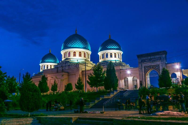 Μουσουλμανικό τέμενος Ahror Valiy Khoja στην Τασκένδη, Ουζμπεκιστάν στοκ εικόνα με δικαίωμα ελεύθερης χρήσης