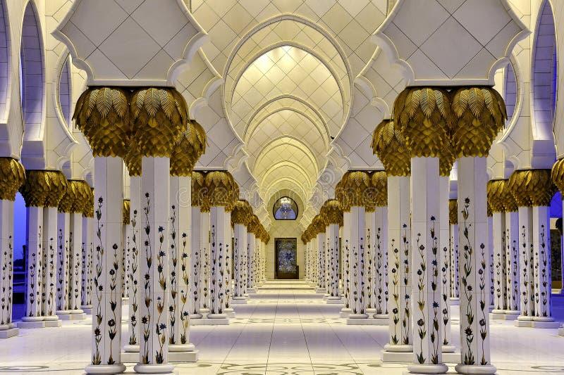 μουσουλμανικό τέμενος &alp στοκ φωτογραφίες