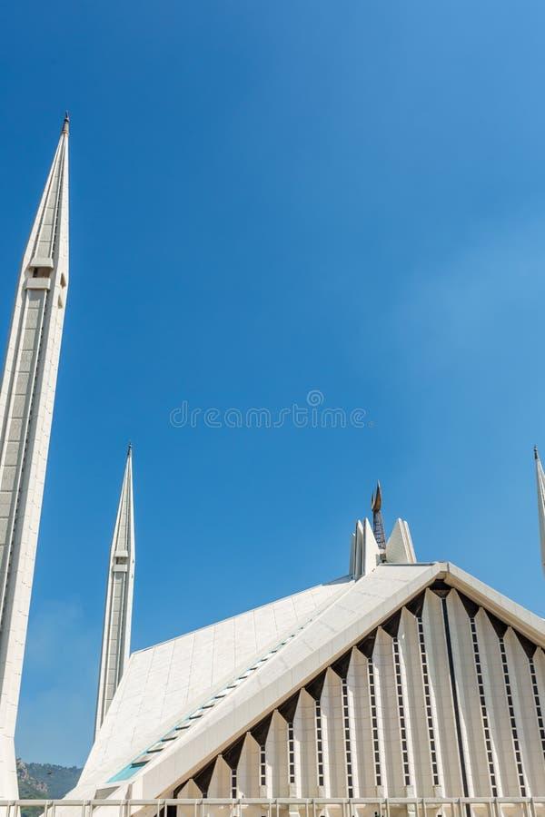 Μουσουλμανικό τέμενος Faisal Shah στο Ισλαμαμπάντ, Πακιστάν στοκ φωτογραφία με δικαίωμα ελεύθερης χρήσης