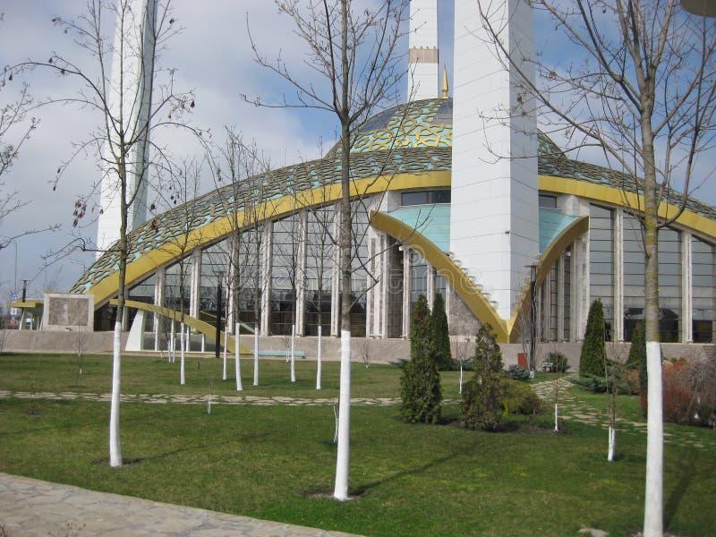 Μουσουλμανικό τέμενος Kadyrova Aymani σε Argun, τσετσένια Δημοκρατία στη Ρωσία Το μουσουλμανικό τέμενος καλείται καρδιά ` μητέρων στοκ φωτογραφία με δικαίωμα ελεύθερης χρήσης
