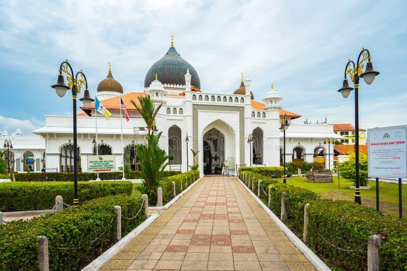Μουσουλμανικό τέμενος Keling Kapitan σε Penang, Μαλαισία στοκ εικόνες