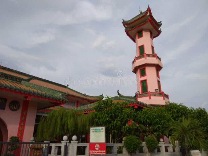 Μουσουλμανικό τέμενος Muhammadiah ή κινεζικό μουσουλμανικό τέμενος στοκ εικόνες