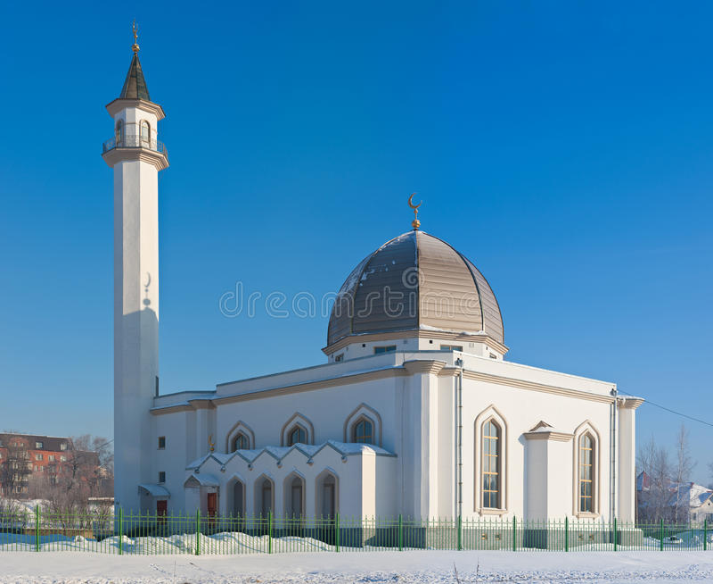 μουσουλμανικό τέμενος pete στοκ εικόνα