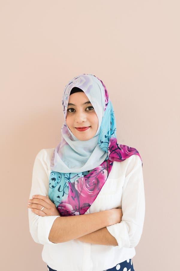 Μουσουλμανική γυναίκα στοκ φωτογραφία με δικαίωμα ελεύθερης χρήσης