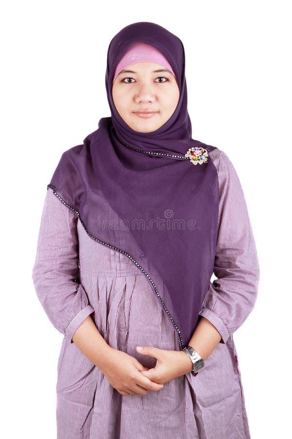 Μουσουλμανικό κορίτσι στοκ εικόνα