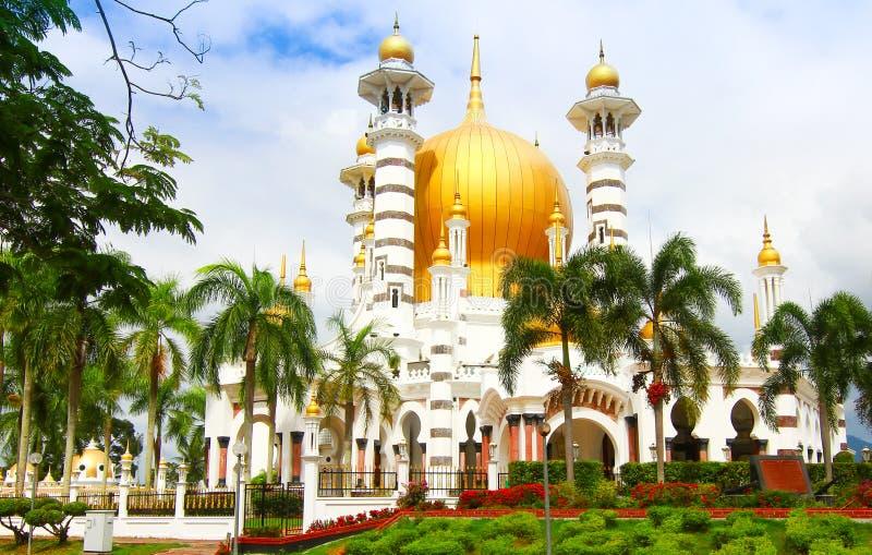 Μουσουλμανικό τέμενος Μαλαισία Ubudiah στοκ εικόνες