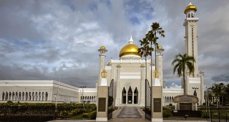 Μουσουλμανικό τέμενος ομορφιάς στοκ εικόνες με δικαίωμα ελεύθερης χρήσης