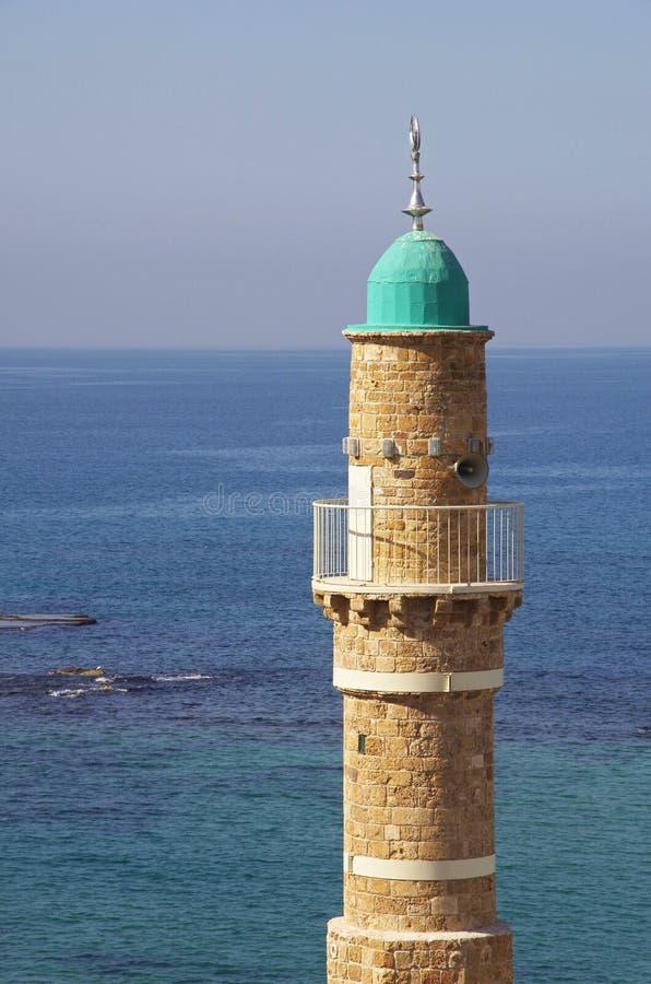 Μουσουλμανικό τέμενος σε Jaffa, Τελ Αβίβ στοκ εικόνες με δικαίωμα ελεύθερης χρήσης
