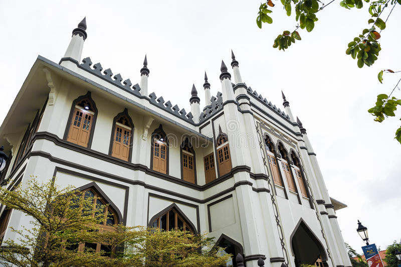 Μουσουλμανικό τέμενος σουλτάνων στοκ φωτογραφίες με δικαίωμα ελεύθερης χρήσης