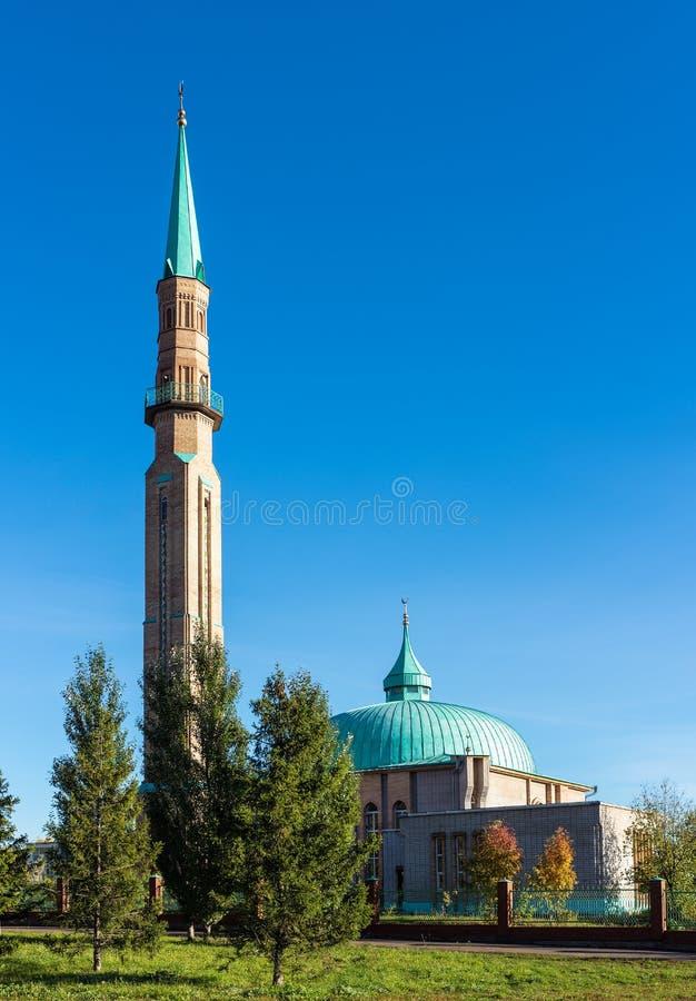 Μουσουλμανικό τέμενος στην πόλη Elabuga στοκ φωτογραφία με δικαίωμα ελεύθερης χρήσης
