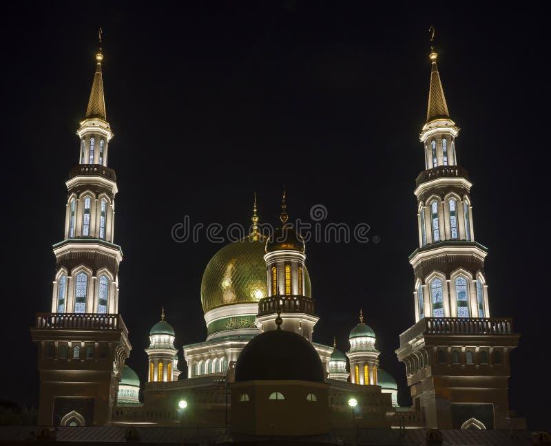 Μουσουλμανικό τέμενος στη Μόσχα στοκ φωτογραφίες με δικαίωμα ελεύθερης χρήσης