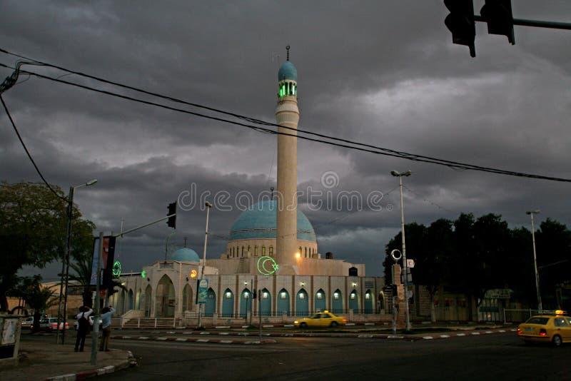 Μουσουλμανικό τέμενος στο Jericho, Ισραήλ στοκ εικόνες με δικαίωμα ελεύθερης χρήσης