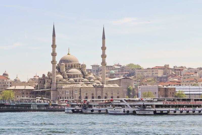 Μουσουλμανικό τέμενος της Ιστανμπούλ στοκ φωτογραφίες με δικαίωμα ελεύθερης χρήσης