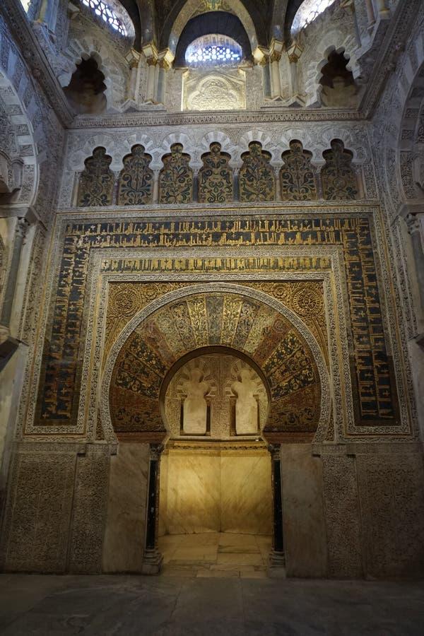 Μουσουλμανικό τέμενος της Κόρδοβα στοκ φωτογραφία