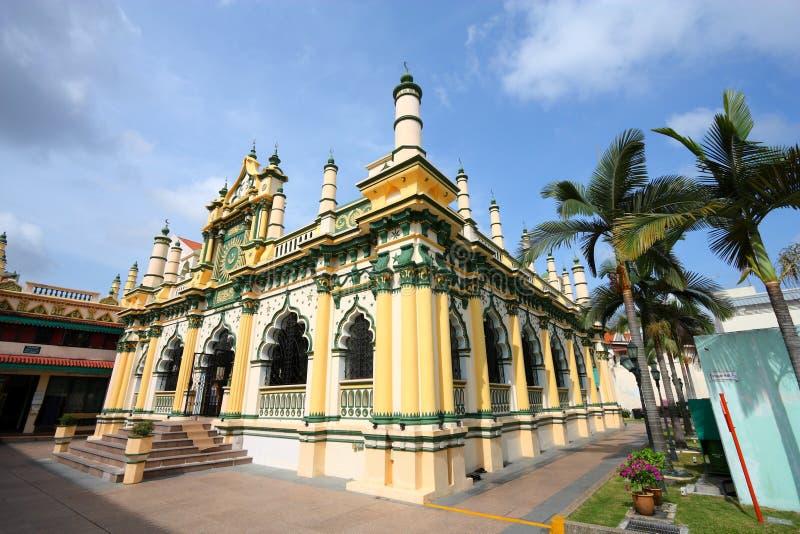 Μουσουλμανικό τέμενος της Σιγκαπούρης στοκ εικόνα