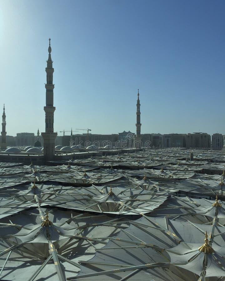 Μουσουλμανικό τέμενος του Μωάμεθ προφητών στοκ εικόνες