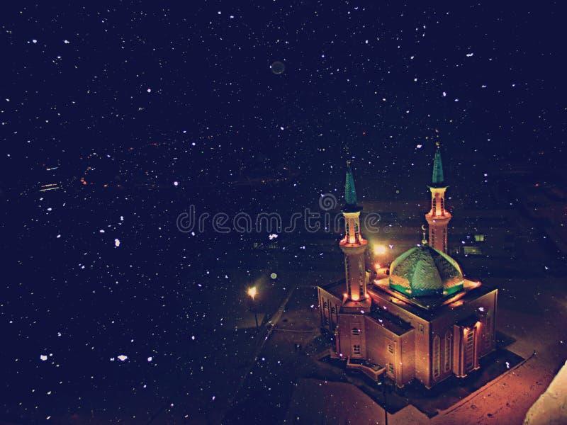 Μουσουλμανικό τέμενος φωτογραφιών στοκ εικόνα με δικαίωμα ελεύθερης χρήσης