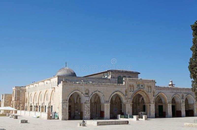 Μουσουλμανικό τέμενος Al Aqsa στοκ εικόνα με δικαίωμα ελεύθερης χρήσης
