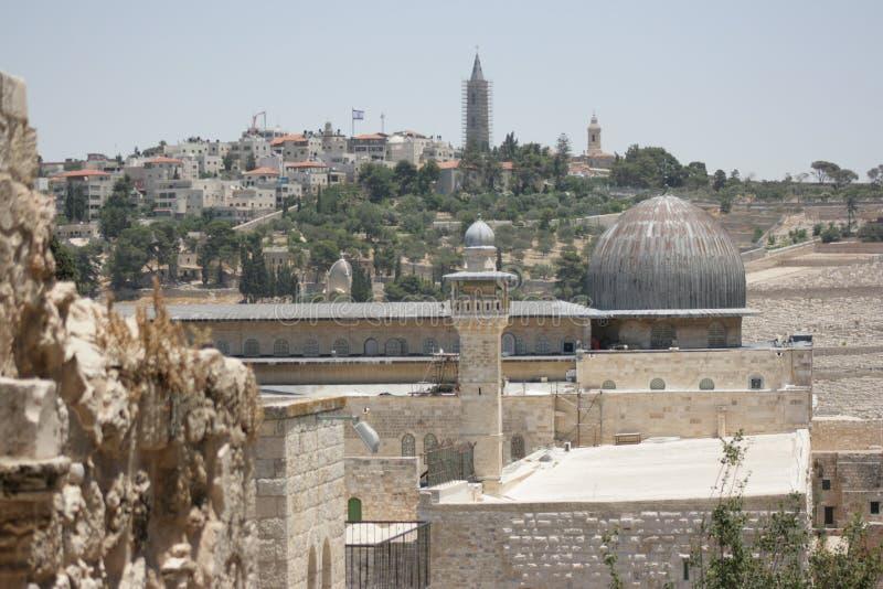 Μουσουλμανικό τέμενος Al Aqsa στοκ φωτογραφίες με δικαίωμα ελεύθερης χρήσης