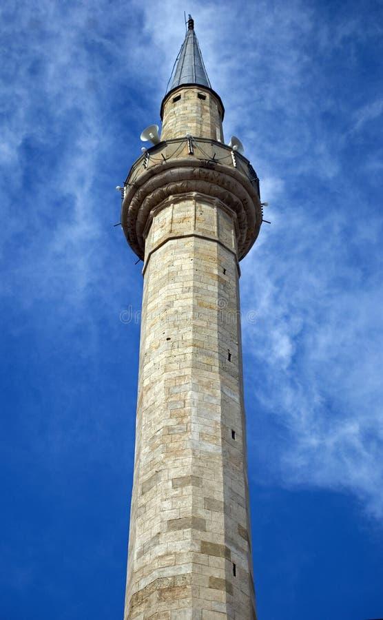 Μουσουλμανικό τέμενος Fatih, Pristina, Κόσοβο στοκ φωτογραφία