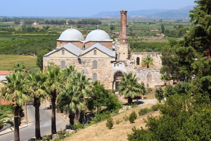 Μουσουλμανικό τέμενος Isabey σε Selcuk, Τουρκία στοκ εικόνα