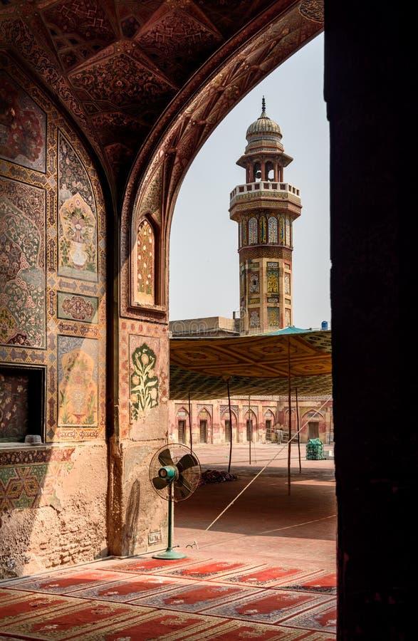 Μουσουλμανικό τέμενος Khan Wazir, Lahore, Πακιστάν στοκ φωτογραφία με δικαίωμα ελεύθερης χρήσης