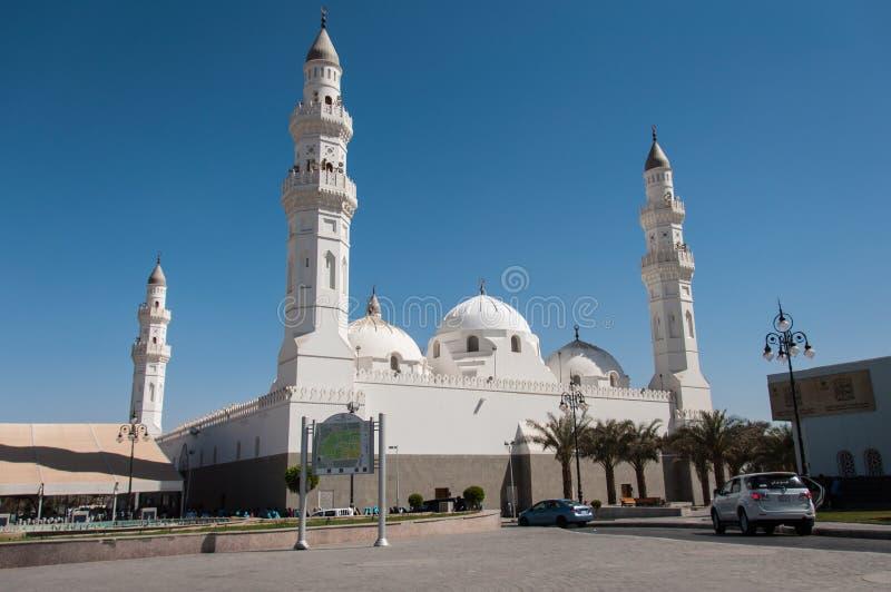 Μουσουλμανικό τέμενος Quba στο Al Madinah, Σαουδική Αραβία στοκ εικόνες