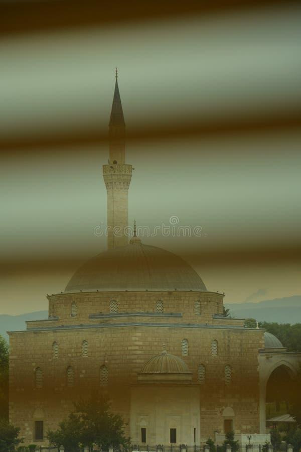 μουσουλμανικό τέμενος skopje στοκ εικόνες