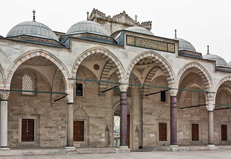 Μουσουλμανικό τέμενος Suleymaniye, Ιστανμπούλ στοκ φωτογραφίες με δικαίωμα ελεύθερης χρήσης