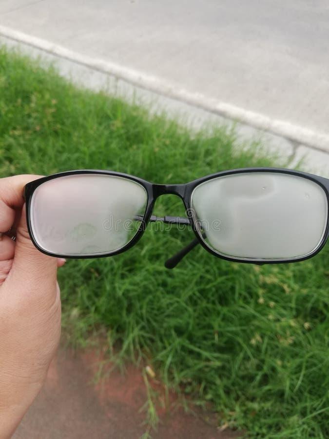 Μουτζουρωμένα γυαλιά ματιών στοκ εικόνα με δικαίωμα ελεύθερης χρήσης